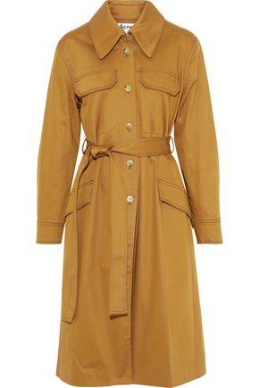 ACNE STUDIOS Olesia cotton-blend gabardine trench coat