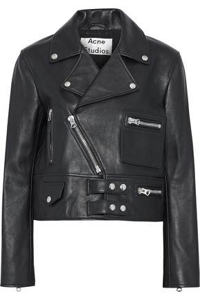 ded7b4de620 ACNE STUDIOS Suokki leather biker jacket