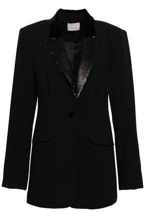 CINQ À SEPT Ariella embellished crepe blazer