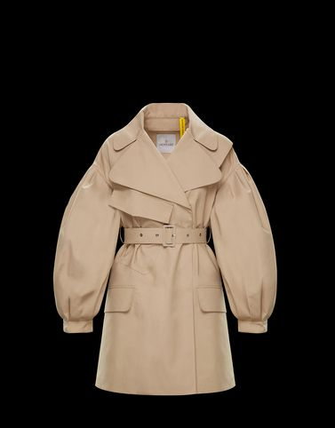 TRENCH COAT Beige Coats & Trench Coats