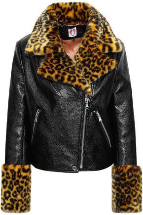 SHRIMPS Faux leather jacket