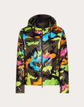 CAMOUFLAGE WATERPROOF JACKET