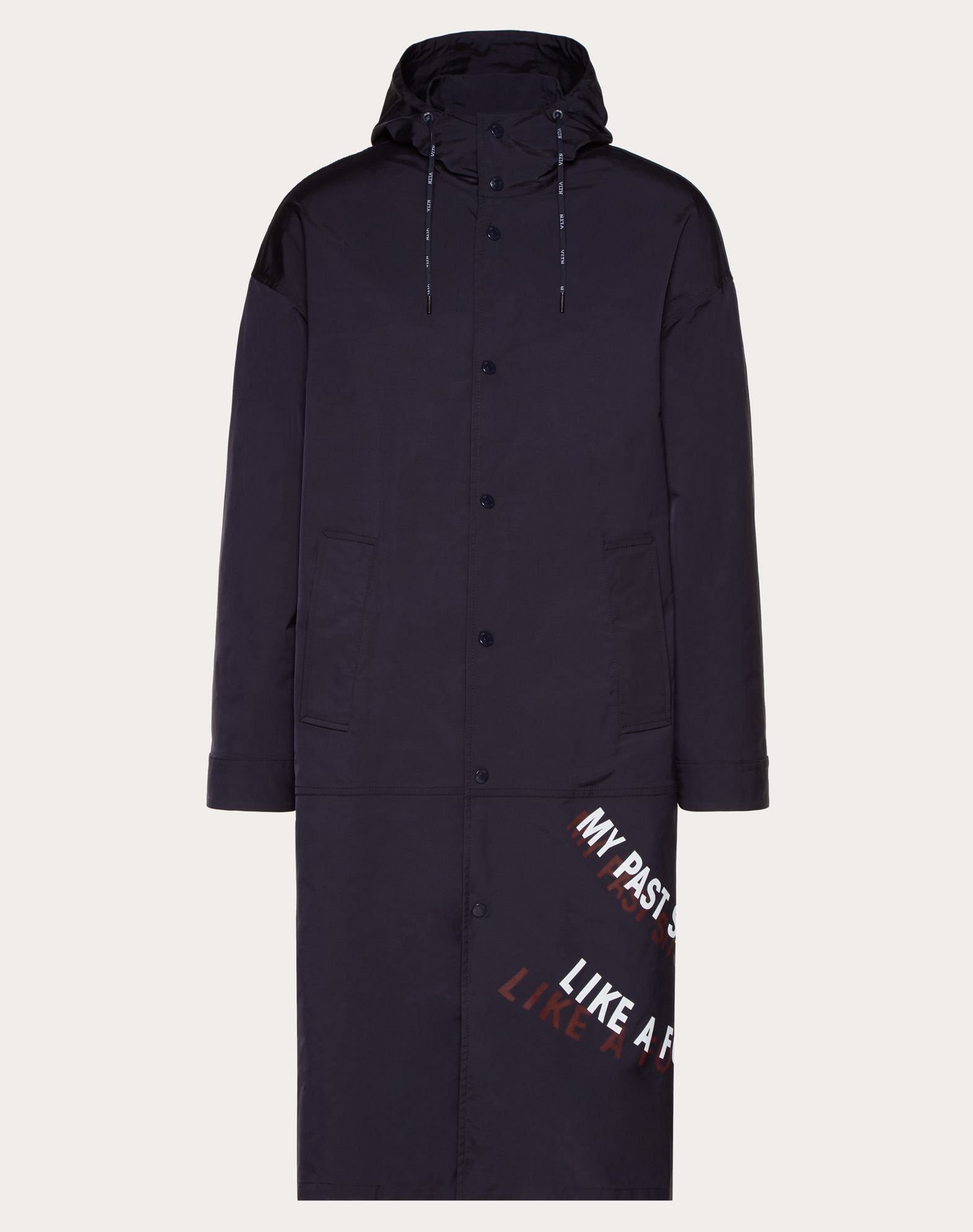 PARKA WITH HEARTBREAD/INDIA K PRINT