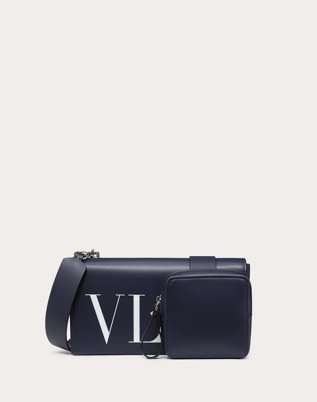 SMALL LEATHER VLTN CROSSBODY BAG