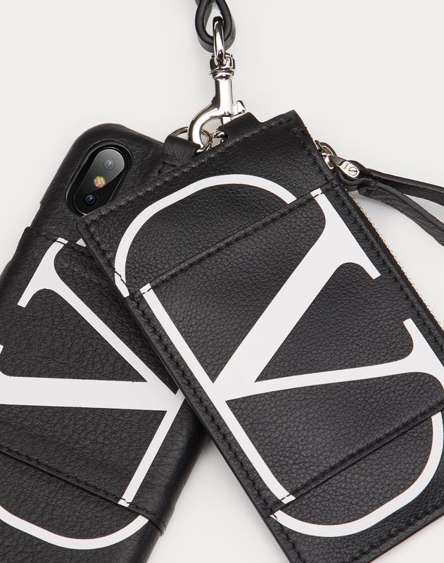 VLOGO Phone Case / Cardholder with Neck Strap