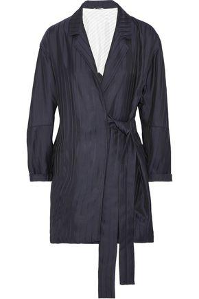 ACNE STUDIOS Jabin striped twill wrap jacket