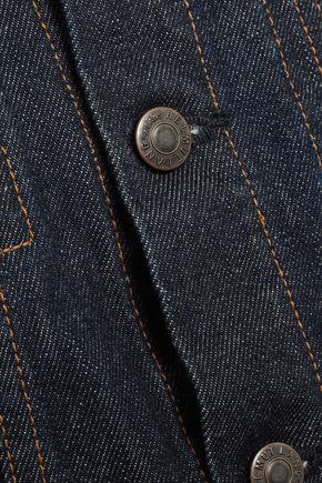 HELMUT LANG Coated denim jacket
