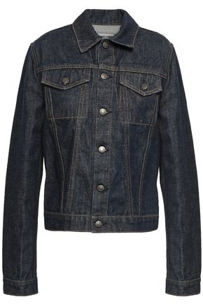 HELMUT LANG Coated denim jacket