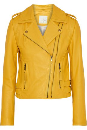 JOIE Leolani leather biker jacket