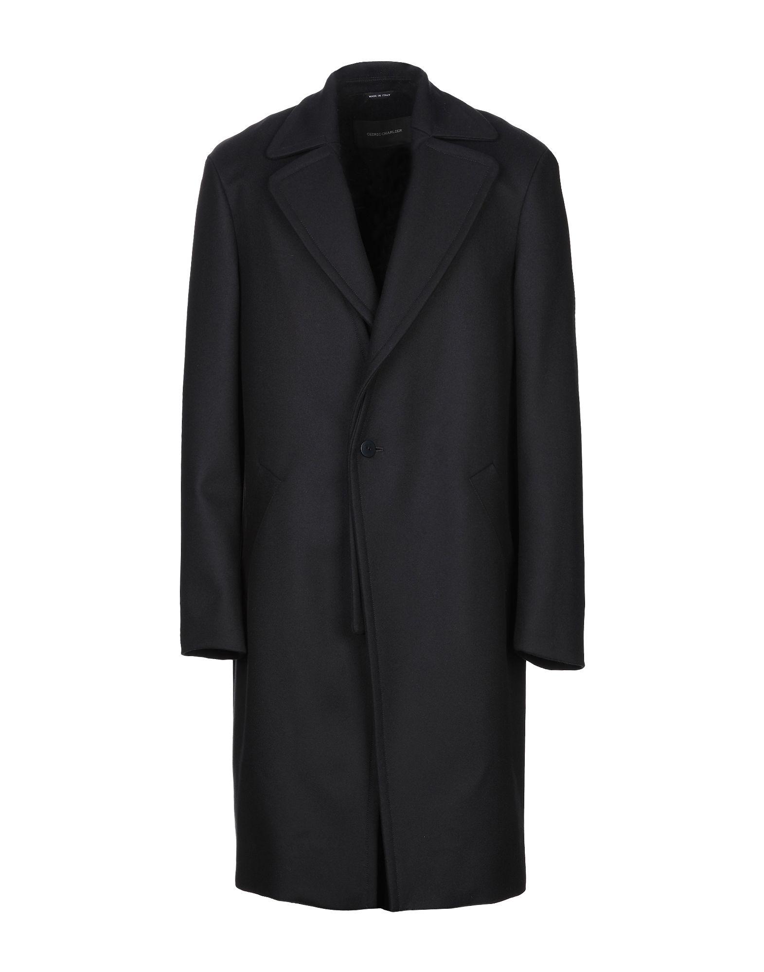 CEDRIC CHARLIER Пальто цена 2017