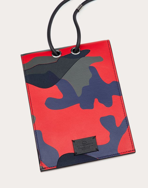 Camouflage Phone Case with Neck Strap