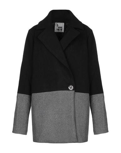 Купить Женское пальто или плащ 5PREVIEW серого цвета