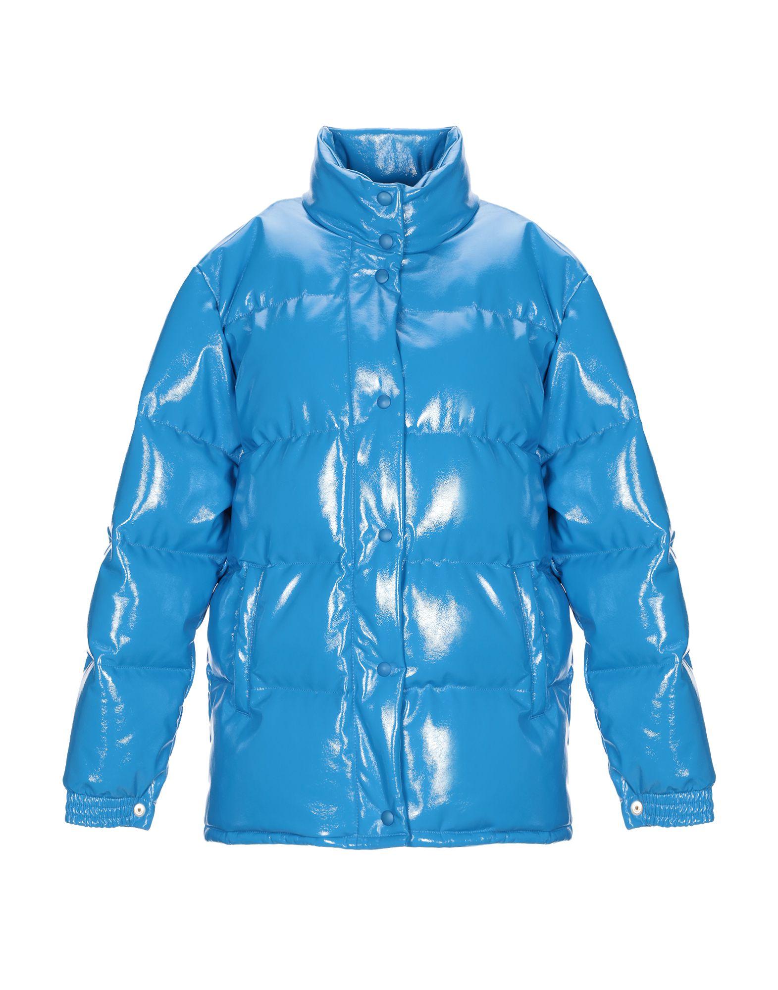 《期間限定セール開催中!》ALBERTA FERRETTI レディース 合成繊維中綿アウター ブルー 38 ポリウレタン 55% / ポリエステル 45%