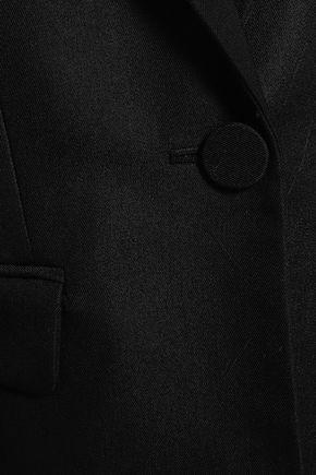 ADAM LIPPES Wool-blend twill blazer