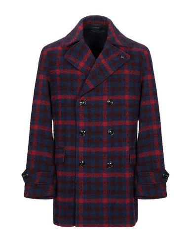Фото - Мужское пальто или плащ INDIVIDUAL синего цвета