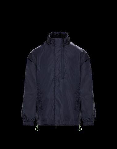 LOIK Dark blue Category Overcoats
