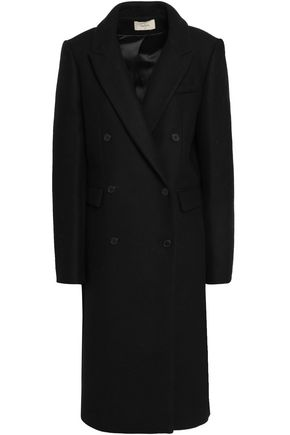 BA&SH Pally double-breasted wool-blend coat
