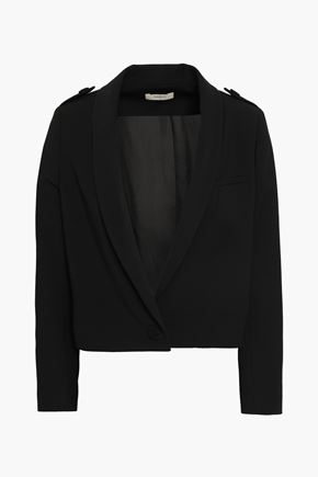 BA&SH Tali cropped stretch-gabardine blazer