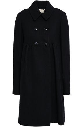 BA&SH Double-breasted tweed coat