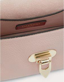 Mini Rockstud Grainy Calfskin Crossbody Bag