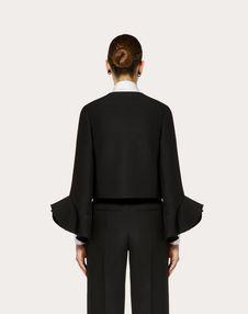 Crêpe Couture Jacket