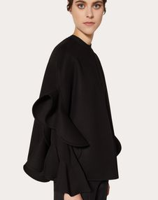 Mini cape en drap compact
