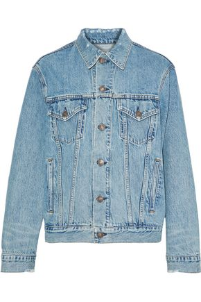 RE/DONE Distressed denim jacket