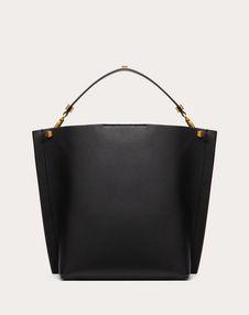Escape Grainy Calfskin Hobo Bag