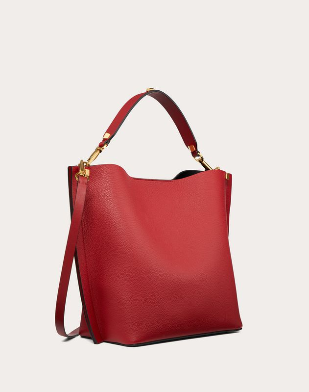Escape Grainy Calfskin Hobo Bag