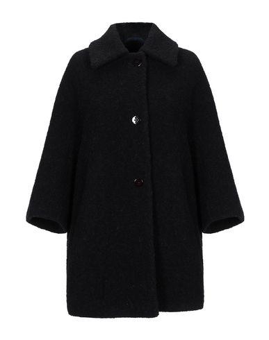 Купить Женское пальто или плащ BLUE LES COPAINS черного цвета