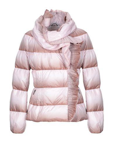 Купить Женский пуховик  розового цвета