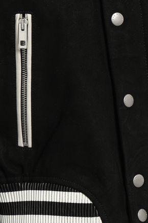 RAG & BONE Suede bomber jacket