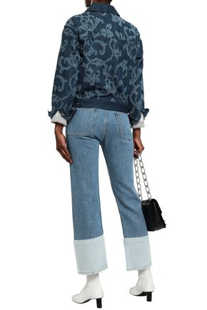 RAG & BONE Concord embroidered denim jacket