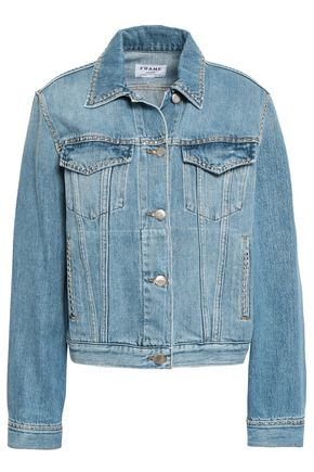FRAME Studded denim jacket