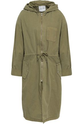 AMERICAN VINTAGE Cotton-gabardine hooded parka