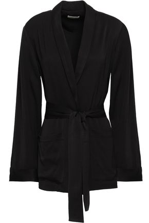 AMERICAN VINTAGE Belted cady blazer