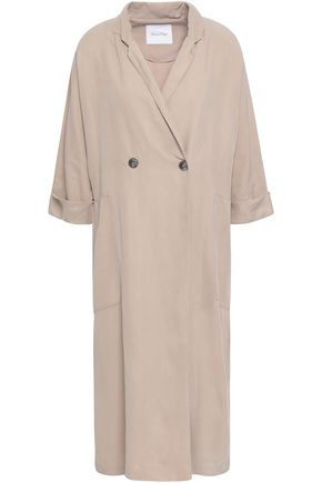 AMERICAN VINTAGE Double-breasted woven coat