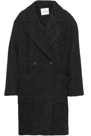 AMERICAN VINTAGE Double-breasted bouclé-tweed coat