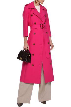 KHAITE Charlotte double-breasted cotton-gabardine trench coat