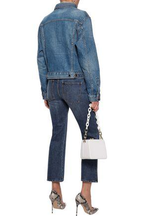 KHAITE Mia faded denim jacket