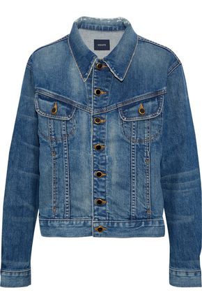 KHAITE Mia faded denim jacket