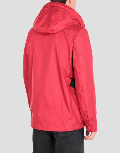 Men's hooded water-repellent CARBONX jacket