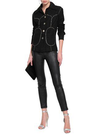 ANTIK BATIK Study studded leather jacket