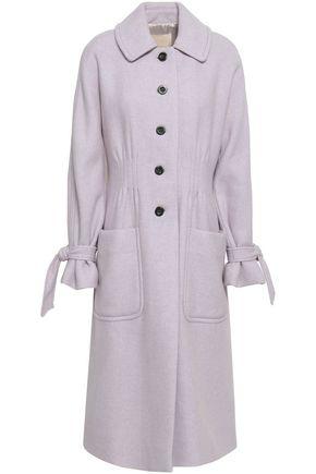 REBECCA TAYLOR Mélange wool-blend felt coat
