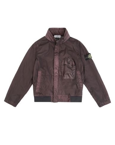 STONE ISLAND JUNIOR Jacket Man 40837 LAMY VELOUR  f
