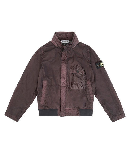 STONE ISLAND JUNIOR Jacket 40837 LAMY VELOUR