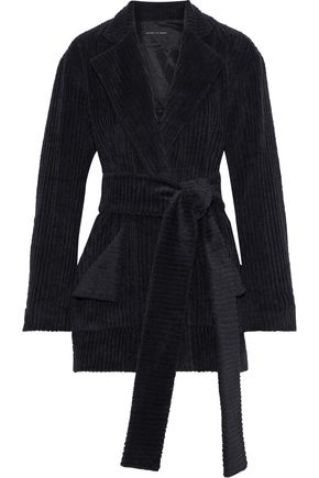 MICHAEL LO SORDO Marina belted cotton-corduroy blazer