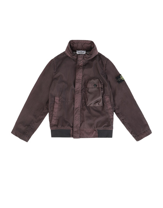 Jacket 40837 LAMY VELOUR  STONE ISLAND JUNIOR - 0