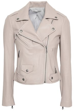REBECCA MINKOFF Leather biker jacket