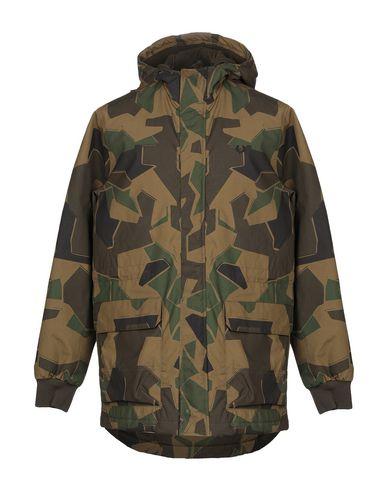 Купить Мужскую куртку  цвет зеленый-милитари